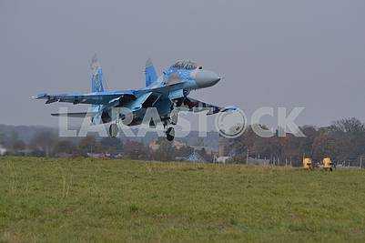 Plane crash of a Su-27UB fighter with a tail number 70