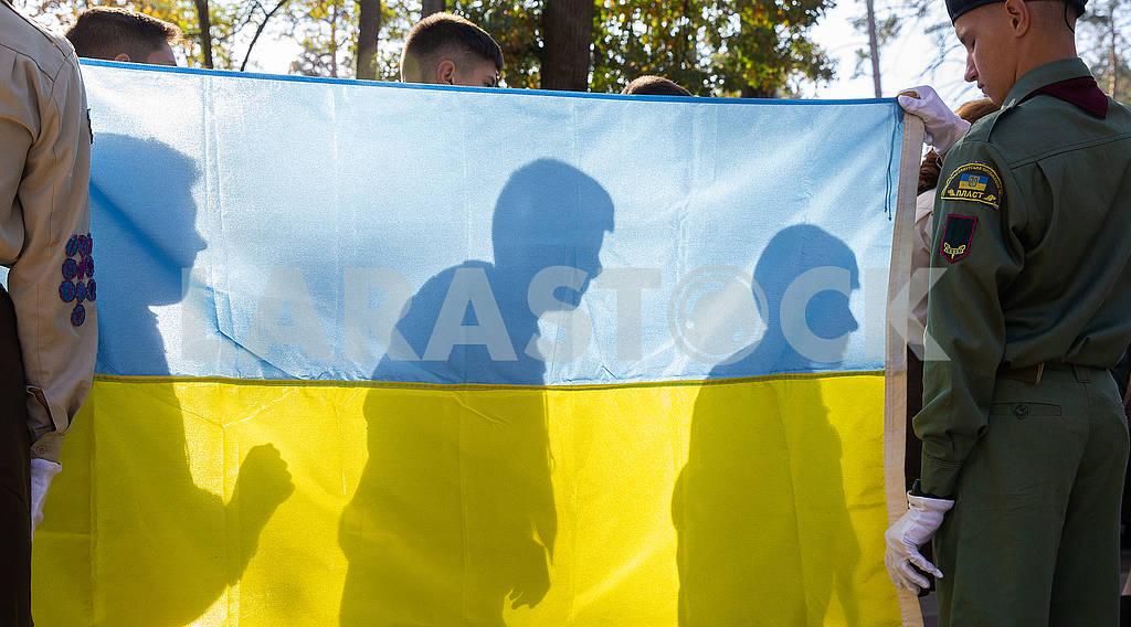 Пластуны и флаг Украины — Изображение 75235