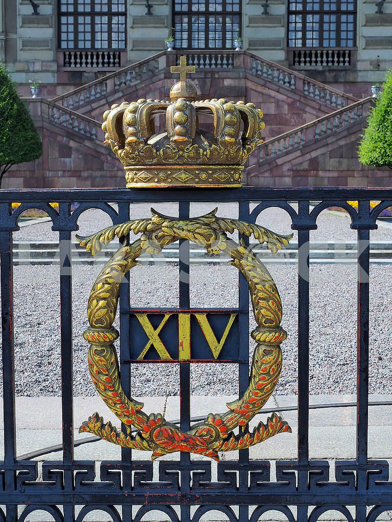 Решетка королевского дворцаДроттнингхольм — Изображение 75369