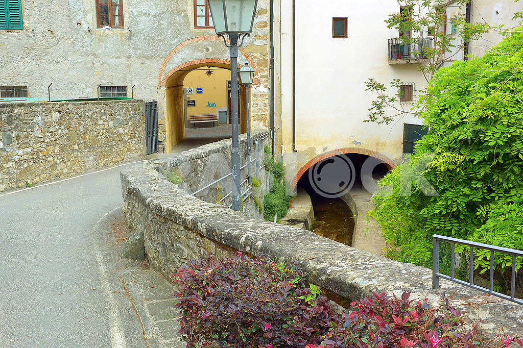 A street in Strada in Chianti — Image 75423