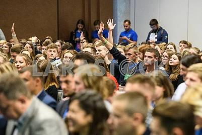 Students of the Ukrainian Academy of Leadership