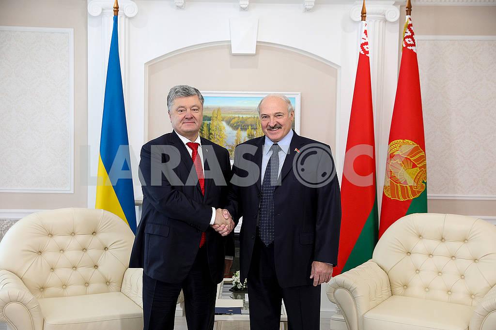Petro Poroshenko and Alexander Lukashenko — Image 75597