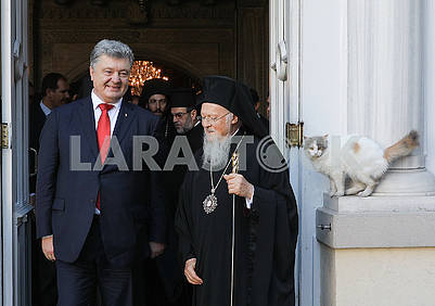 Poroshenko, Bartholomew and the cat