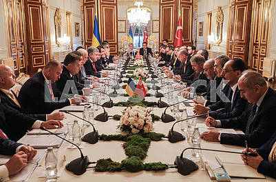 Negotiations of the Ukrainian and Turkish delegation
