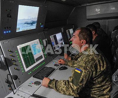 Пульт управления ЗРК С-125М1