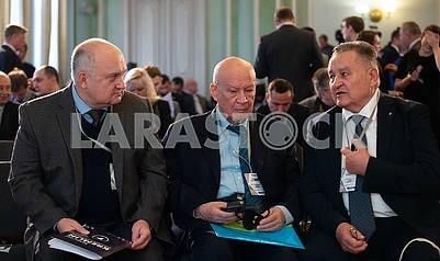 Igor Smeshko, Vladimir Gorbulin, Yevgeny Marchuk