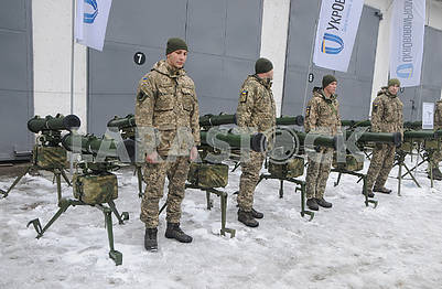 "Soldiers in anti-tank complexes ""Corsair"""