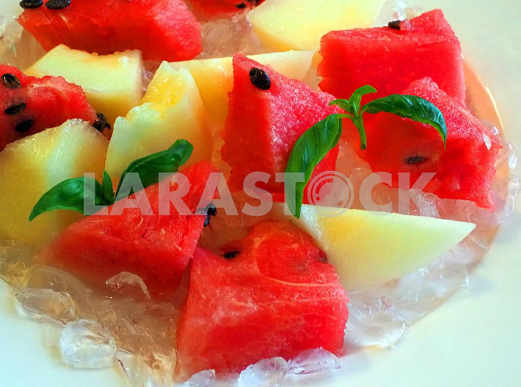 Кусочки арбуза и дыни — Изображение 76223