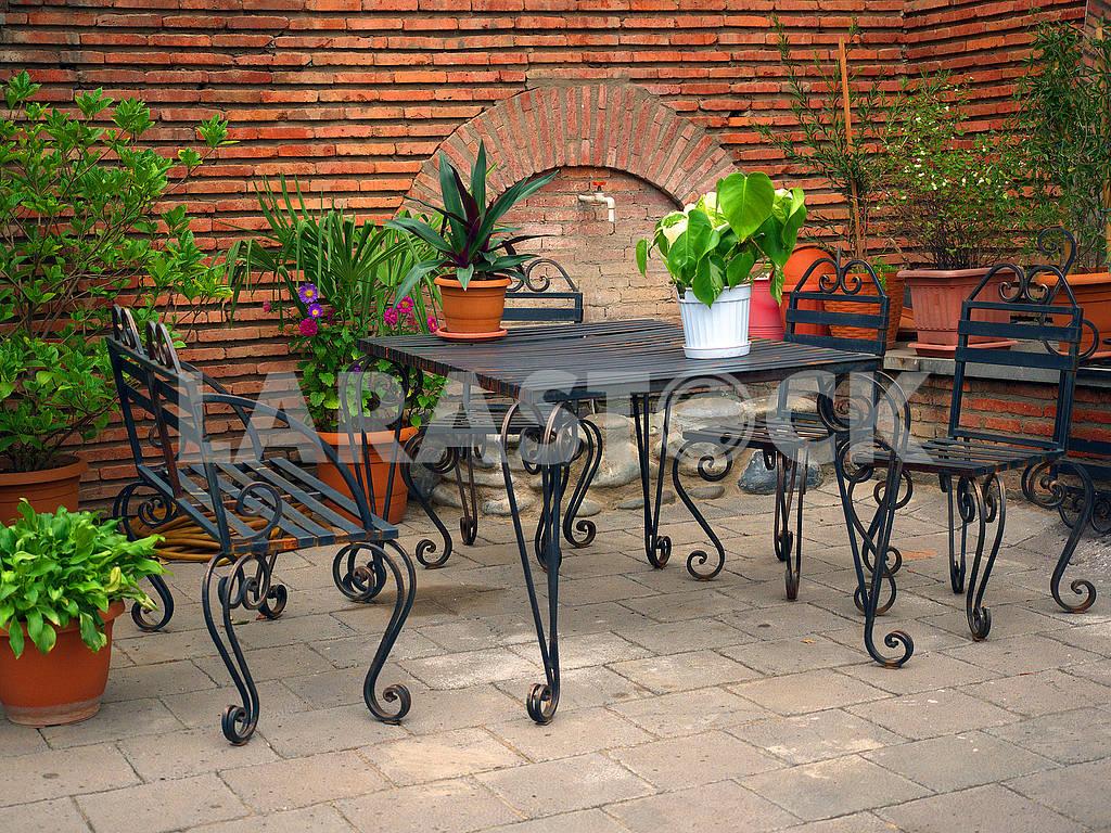 Кованые столы и стулья — Изображение 76448