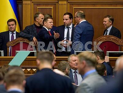 Oleg Lyashko, Oleksandr Saenko, Andrey Paruby