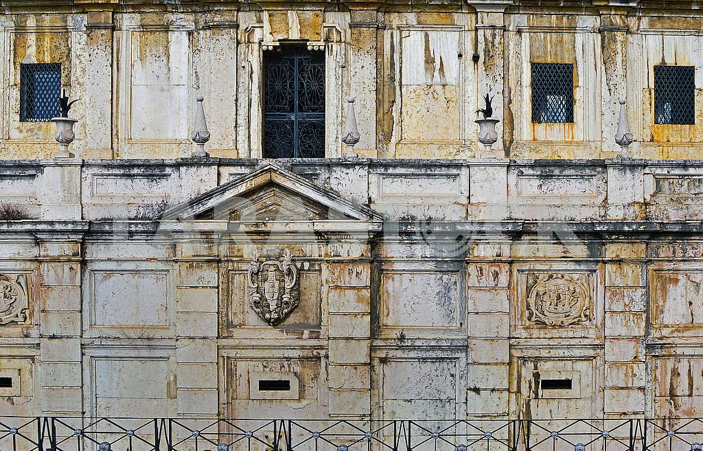 Стіна старого будинку в Лісабоні — Изображение 76518