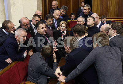 Stepan Poltorak and Verkhovna Rada Deputies
