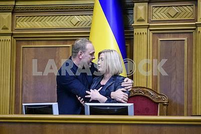 Sergey Vlasenko, Irina Gerashchenko