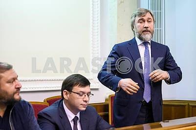 Mikhail Dobkin, Evgeny Muraev, Vadim Novinsky