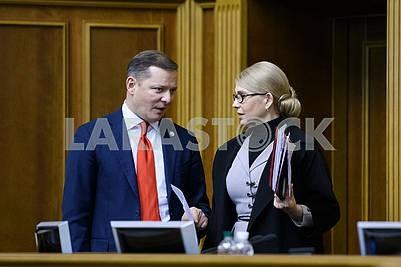 Oleg Lyashko, Yulia Timoshenko