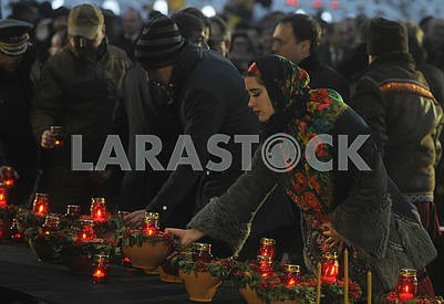 Ceremony commemorating the victims of famine