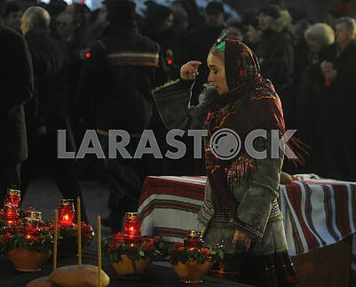 Церемония чествования памяти жертв голодоморов