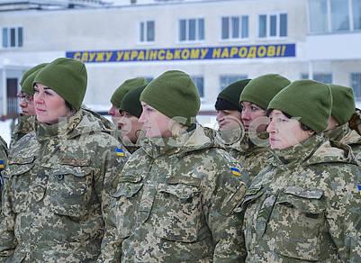 Женщины военнослужащие