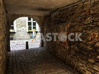 Passage yard in Tallinn