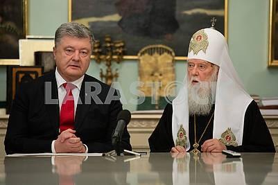 Petro Poroshenko and Filaret
