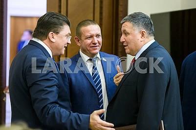 Igor Zhdanov, Mikhail Bondar, Arsen Avakov