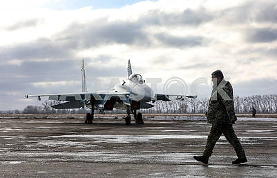 Petro Poroshenko and the MiG aircraft