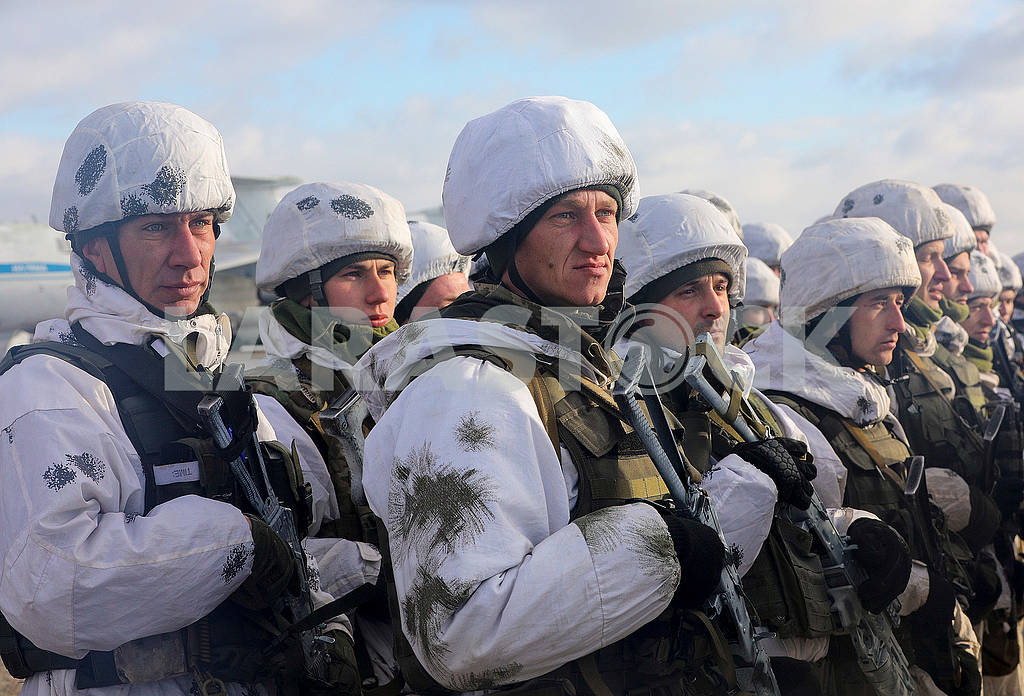 Paratroopers warriors — Image 76857