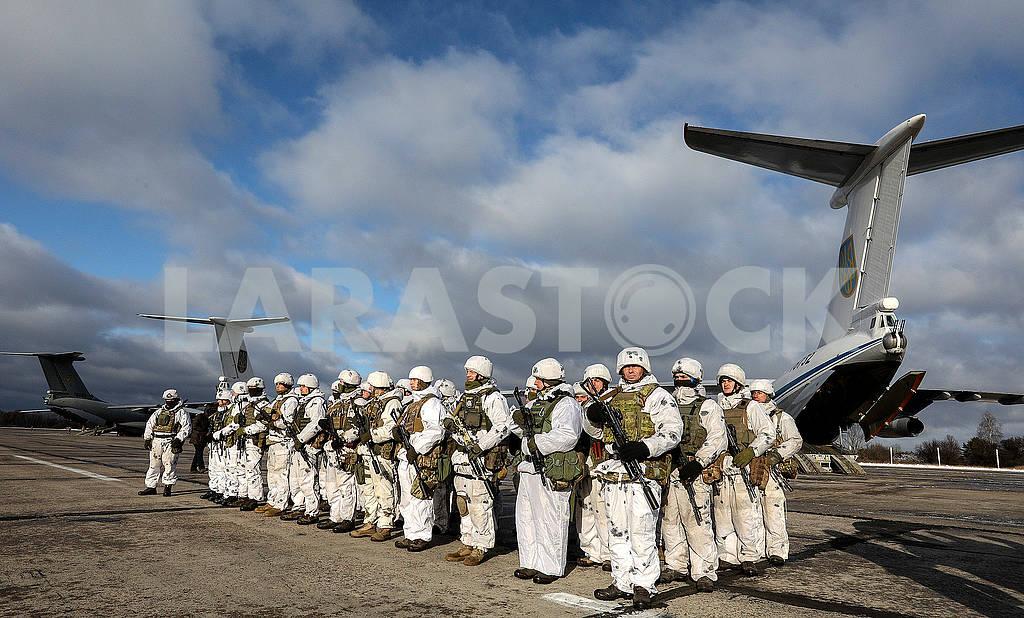 Paratroopers warriors — Image 76858