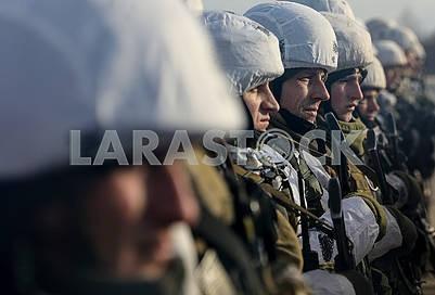 Воины десантники 95-й  бригады