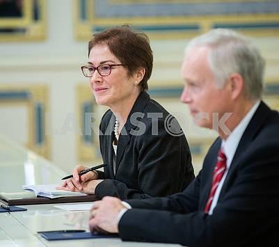 Marie Yovanovic and Ronald Johnson