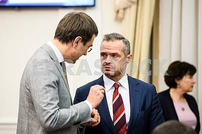 Vladimir Omelyan, Slawomir Novak