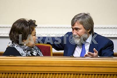 Татьяна Бахтеева, Вадим Новинский