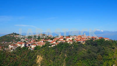Panorama of Sighnaghi