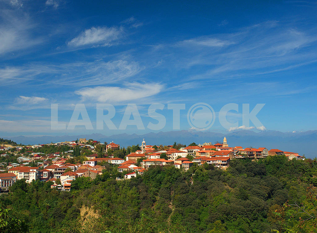 Panorama of Sighnaghi — Image 77046