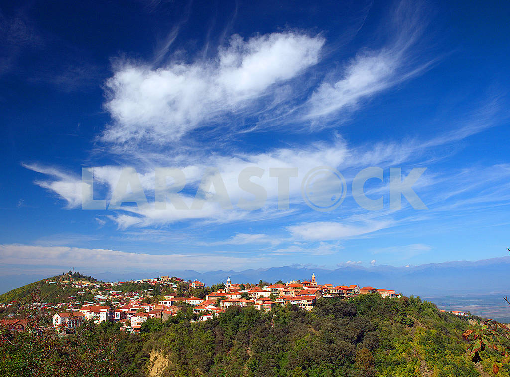 Panorama of Sighnaghi — Image 77047
