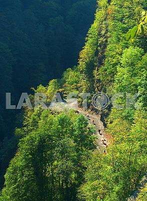 Дорога на перевал Абано, Кахетия