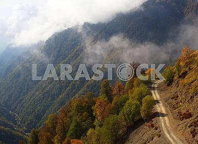 Autumn Landscape in Georgia