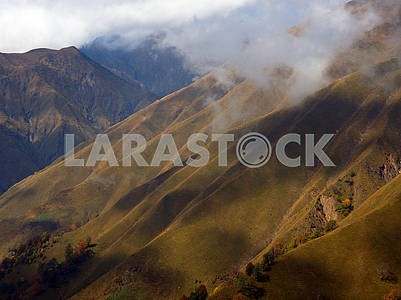Mountain landscape in the Caucasus