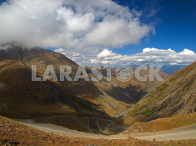 Autumn landscape in Tusheti