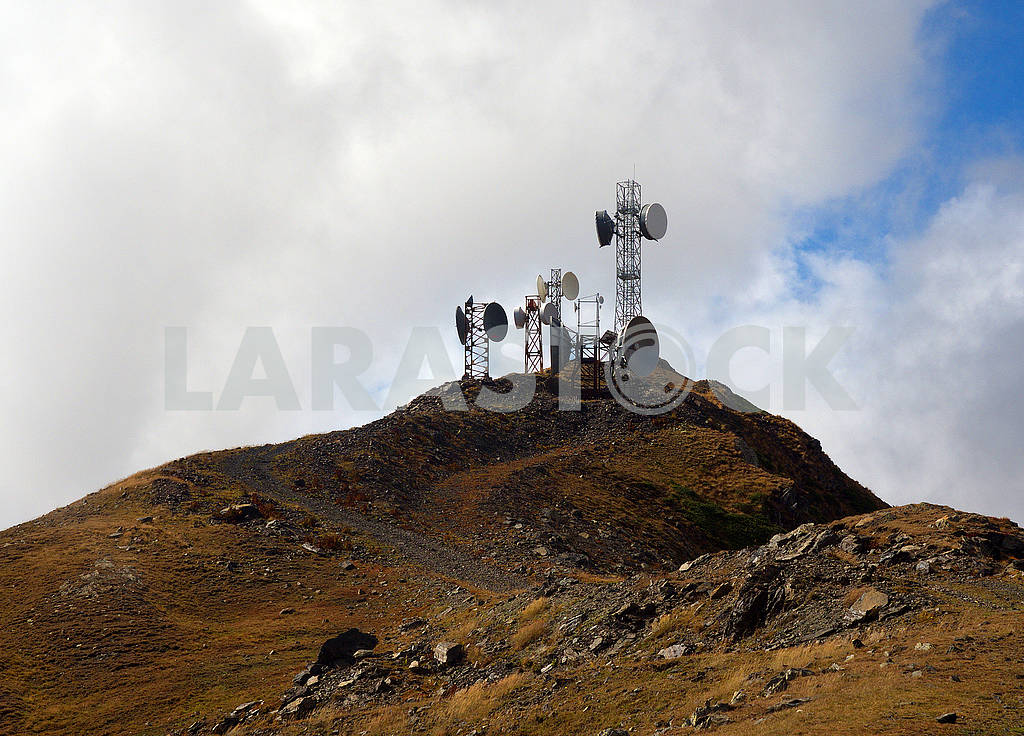 Mobile antennas in the mountains — Image 77267