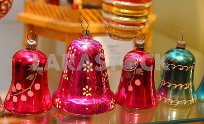 Bells, Christmas toys