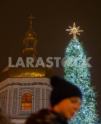 Main tree and St. Sophia Cathedral