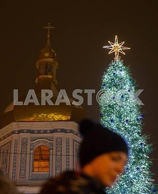 Главная елка и Софийский собор