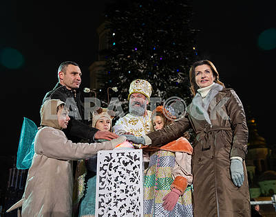Vitali Klitschko, St. Nicholas, Maryna Poroshenko