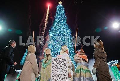 Main Christmas tree of Ukraine