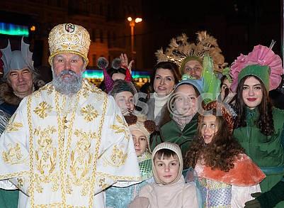 St. Nicholas, children, Maryna Poroshenko