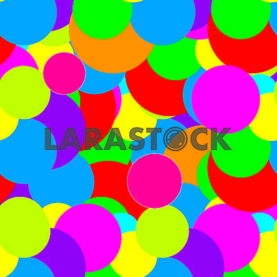 Abstract seamless background with colorful dots