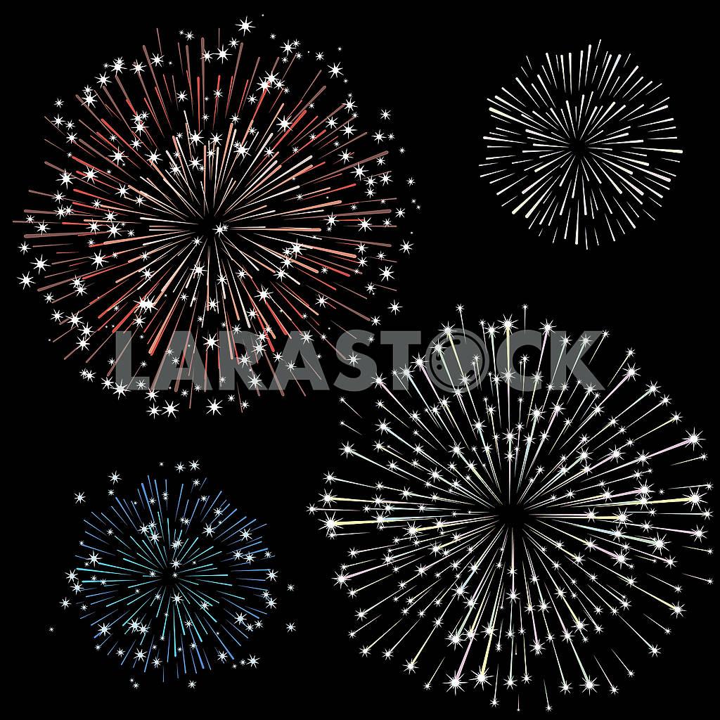 Set of fireworks, part 2 — Image 77361