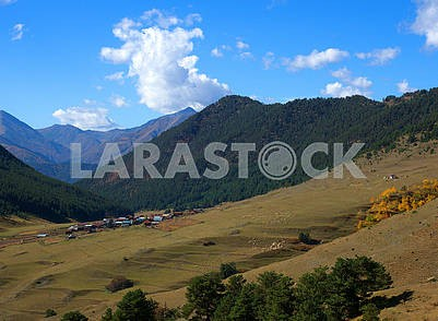 Diklo village in Georgia