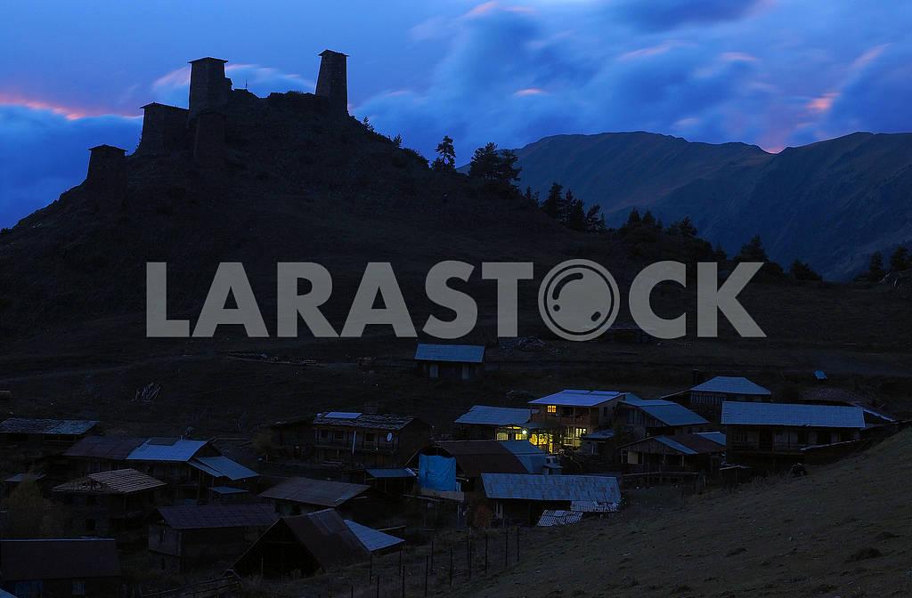 Fortress Keselo, Omalo, Georgia — Image 77564